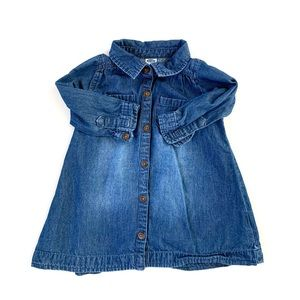 3/$25 Old Navy Baby Girl Chambray Dress